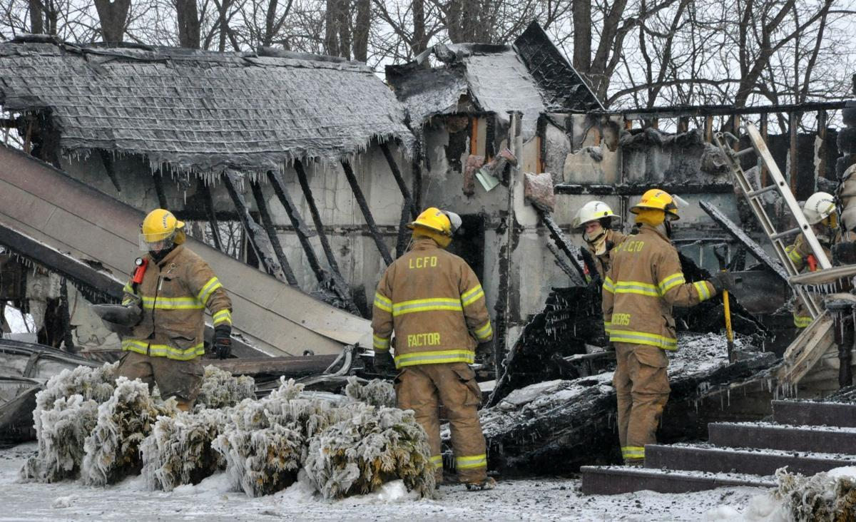 Cordova Township residence destroyed by early morning house fire