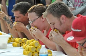 Corn Eating Contest