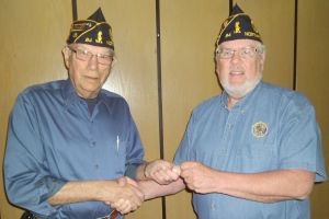 Northfield American Legion honors former commander