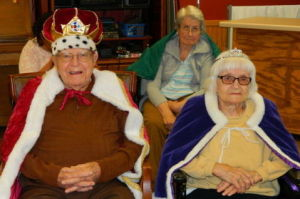 Two crowned during annual Minnesota Valley Health Center nursing home coronation