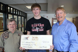 Belle Plaine's Karl wins scholarship at local NWTF Chapter banquet