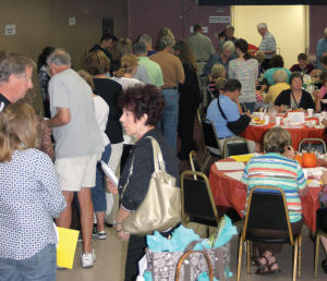 People line up for a taste of Steele County