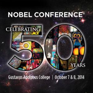 Nobel 50th logo