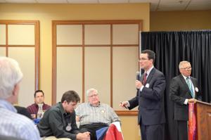 School district speaks at noon Rotary