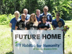 Habitat for Humanity of Steele-Waseca Area breaks ground