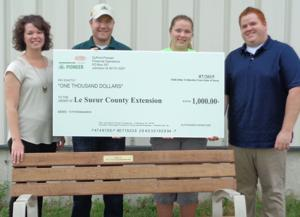 Le Sueur County Extension receives grant from DuPont Pioneer