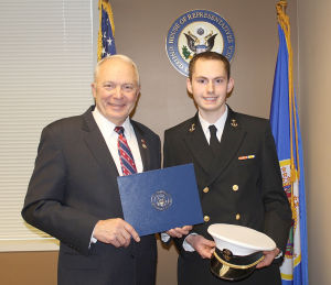 Kline, Franken nominate Northfield student to U.S. Service Academies