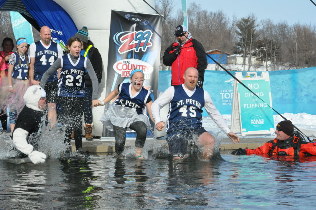 GALLERY: Polar Plunge draws hundreds, raises thousands for Special Olympics
