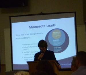 Amy Klobuchar SCC Workforce Summit