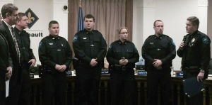 New officers