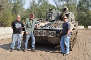Drive a Tank riders