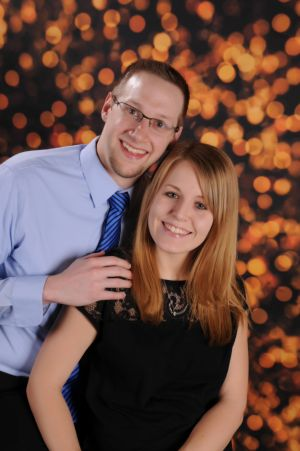 Katie Van Der Linden and Brian Rock of St. Paul