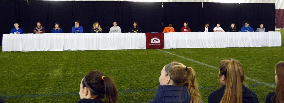 Sabres See 14 Soccer Players Finalize Commitments In