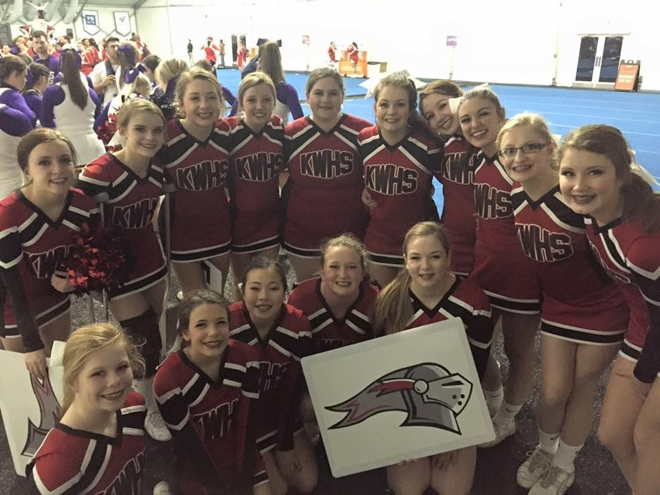 KW Cheer competes at UCA Nationals in Orlando