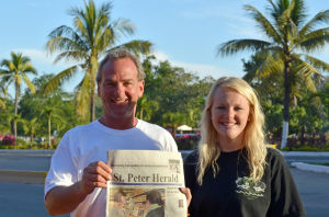 Hark! The St. Peter Herald — Leick