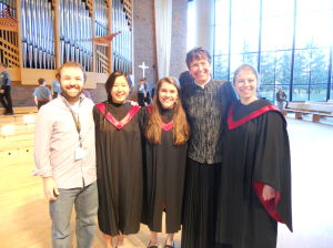Northfielders sing in Women's Honor Choir