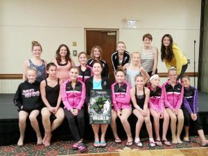 Jill Hoggard Academy of Dance in Owatonna attends Dance Olympus Convention