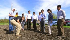 Waseca farmers host trade team from Japan