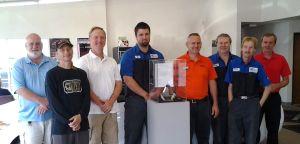 Waseca Chrysler Center earns the 2013 customer experience award
