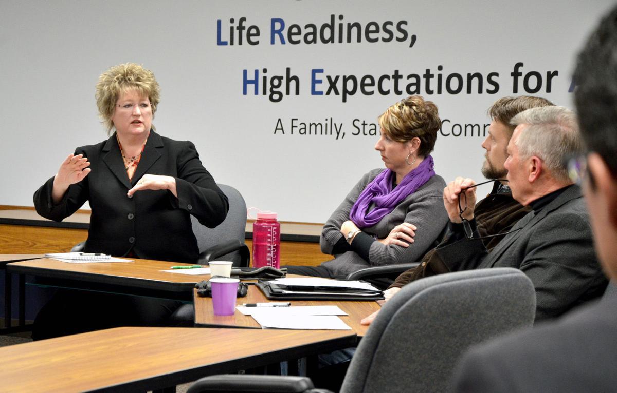 Rep. John Petersburg, Sen. Vicki Jensen talk upcoming legislation and funding with Owatonna School Board