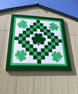 Irish Barn Quilt Patterns : Barn quilt - Kenyon MN: Arts And Entertainment