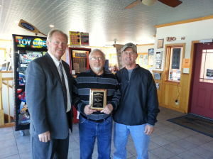 Waseca Community Arena Board honors Tom Piche