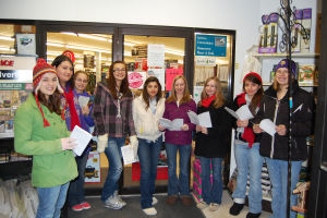 K-W Chorale carolers at Jerrys Ace Hardware