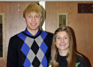 Eric Hokanson and Emily Ashland