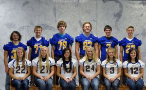 Waseca homecoming court
