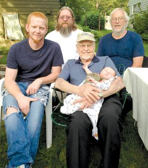 FIVE GENERATIONS: The Wolf family