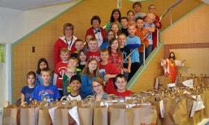 Sacred Heart School students conduct food drive for Waseca County Food Shelf
