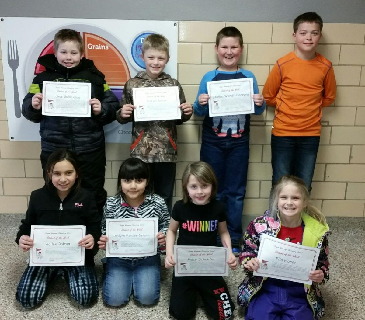 K-W Students of Week for Feb. 5