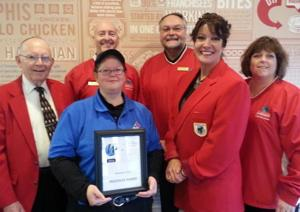 Domino's the recipient of Waseca Chamber Progress Award