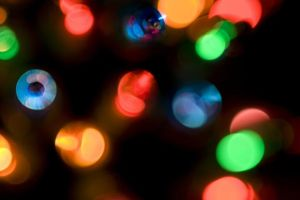 Twinkling holiday spirit