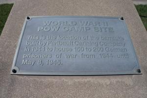 Barracks plaque