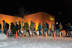Cabela's on Black Friday