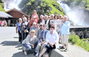 Where in the World: Owatonna residents take People's Press to Norway