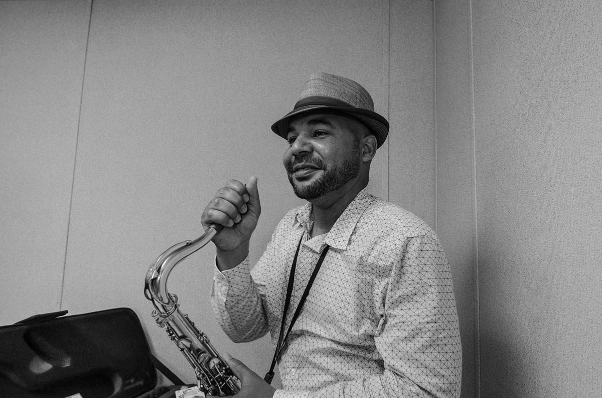 Acclaimed New Orleans jazz saxophonist playing concert at OAC Tuesday