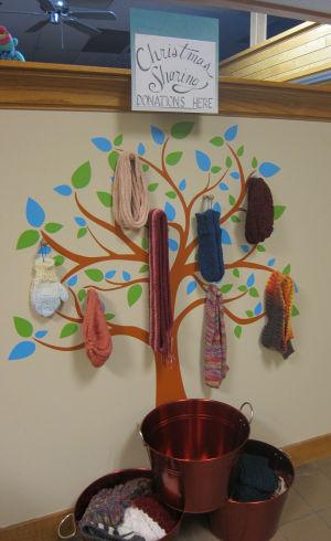 Giving Tree established at Northfield Yarn