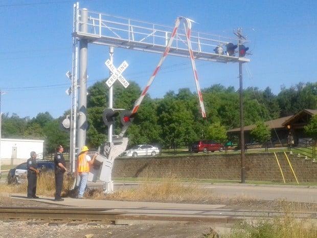 Northfield Police Department Checks City S Train Crossing