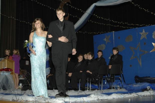 Seniors Katie Strand and Jordan Ryan