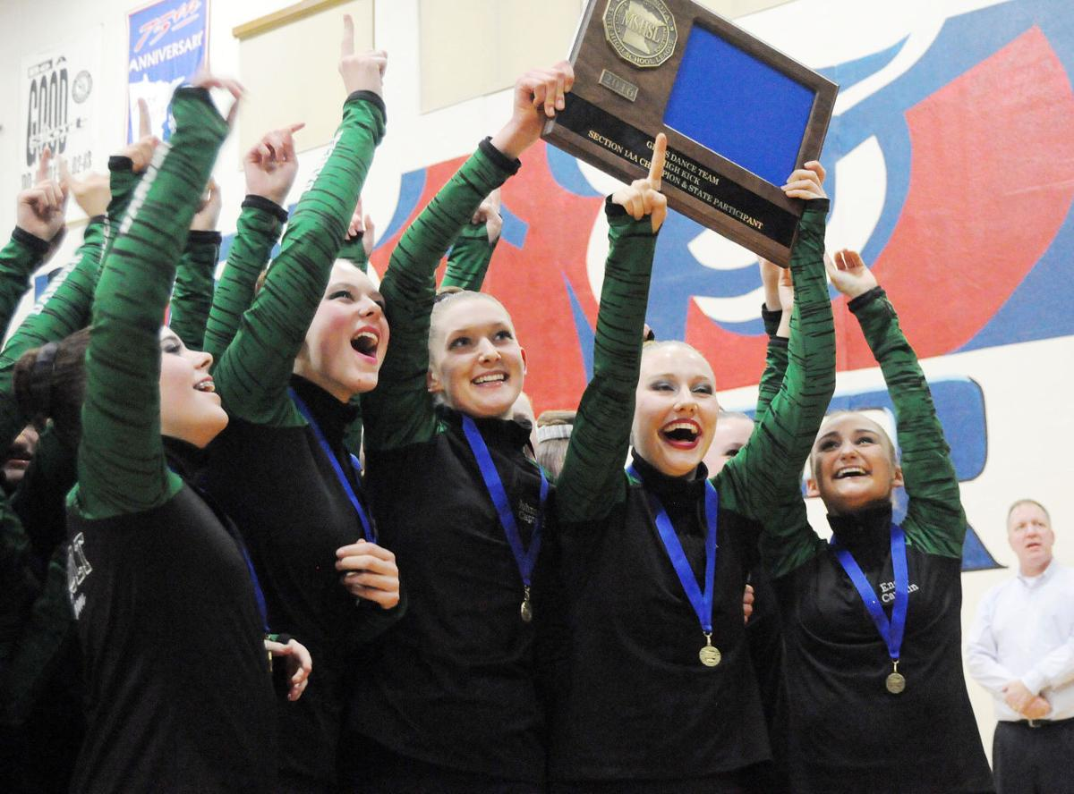 Make it a double: Emeralds win high kick, take 2nd in jazz at Section 1AA meet to advance to state in both