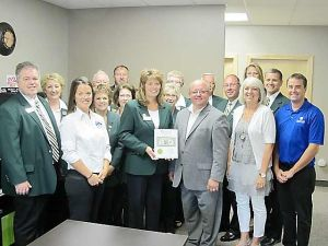 Owatonna Area Chamber of Commerce and Tourism ambassadors visit Ludewig Financial Group