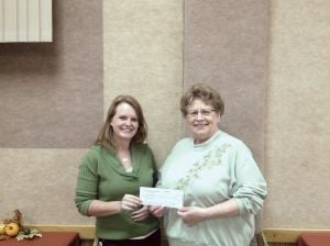 Cultural Diveristy Network gives donation for the Owatonna Community Thanksgiving Dinner