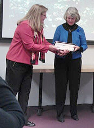 Northfielder Judy Code honored by the Minnesota State Horticultural Society