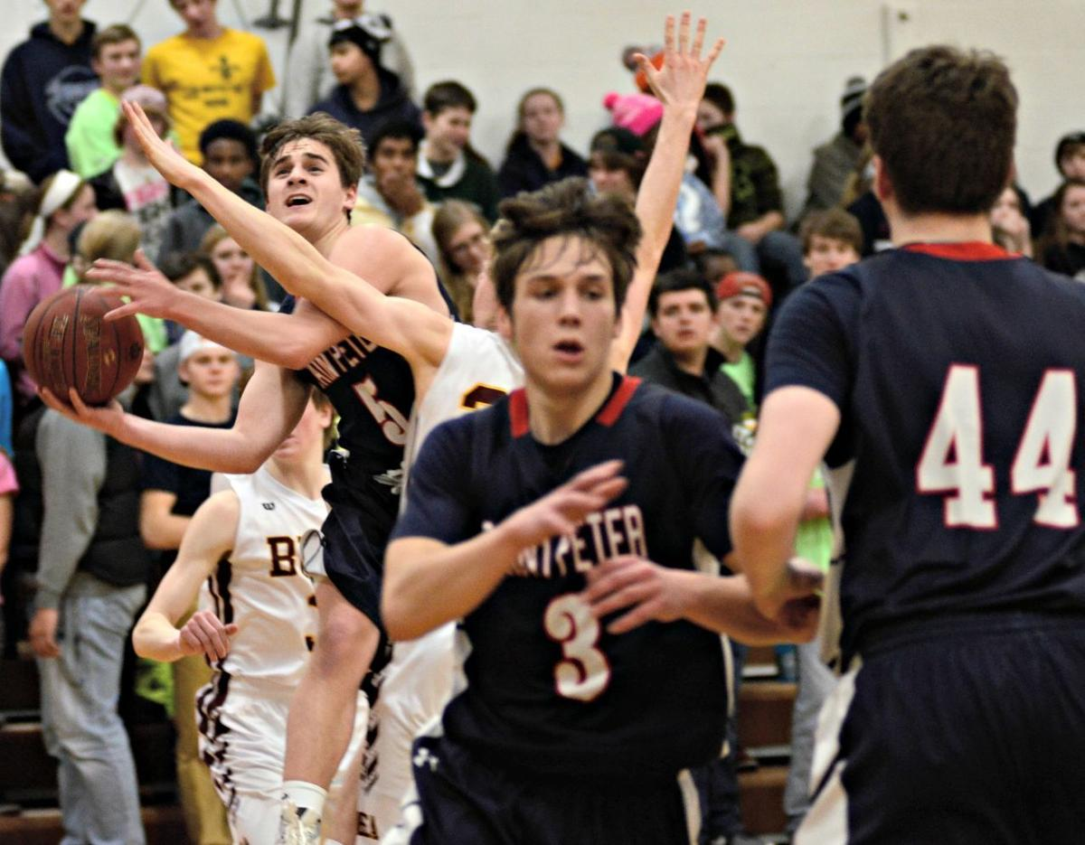 St. Peter boys basketball beats Blue Earth to finish 2nd in conference