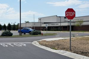 Changing traffic at Intermediate School