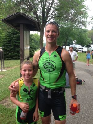 Janesville youth competed in Elysian Triathlon