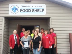 Progress award given to Waseca Area Food Shelf