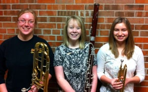 Northfield band students play in state honor bands